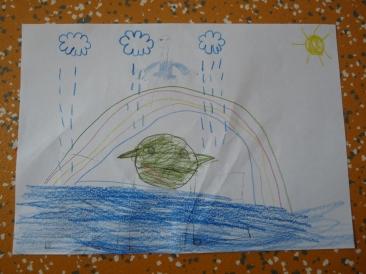 Oliver Pötzsch Lesung - Arbeiten der Kinder in den Klassen 5